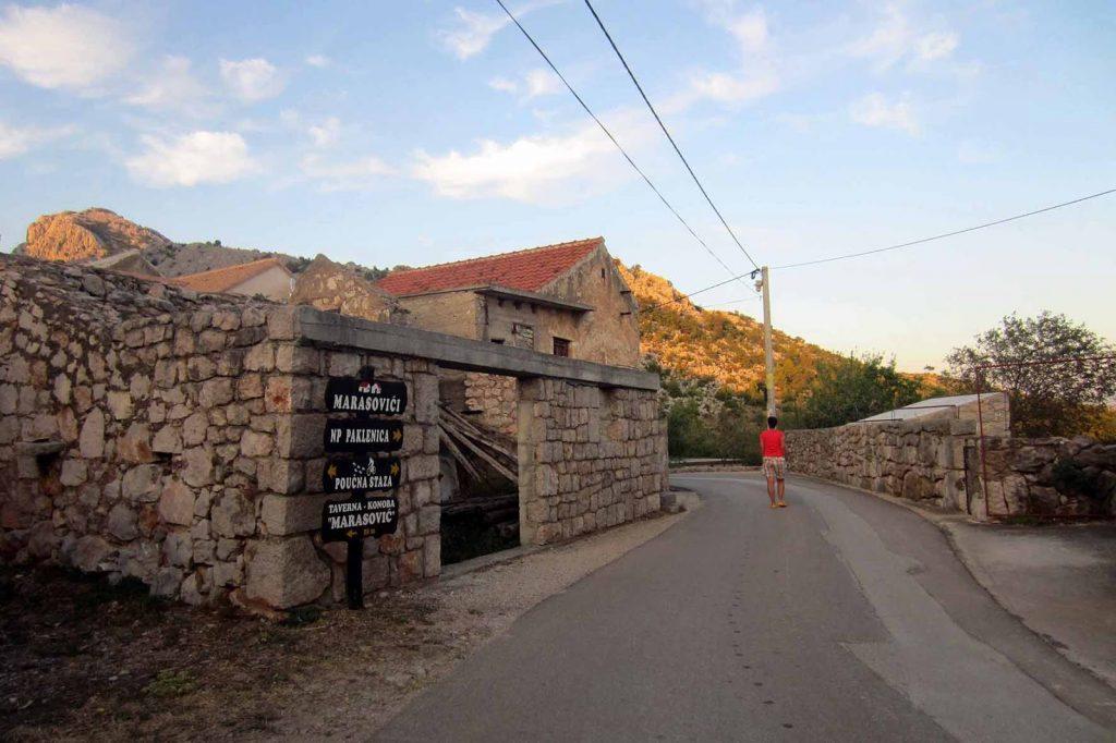 Steinhäuser, typisch kroatisch