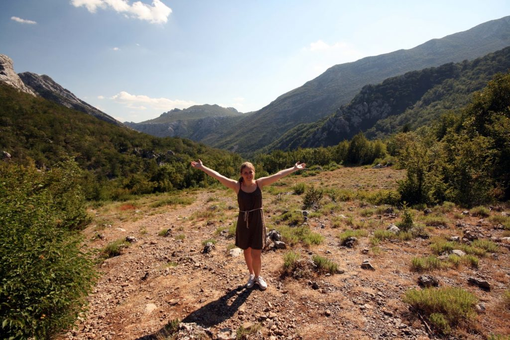 Berge Velebit-Gebirgsmassiv Natur